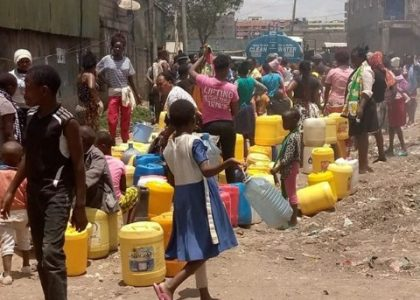 Water Shortage in Mukuru Kwa Njenga