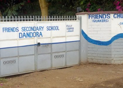 The Right to Education – A Case Study Of Schools In Dandora