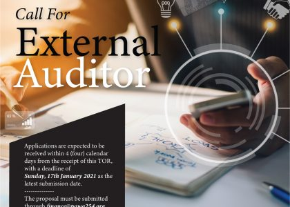 Call For External Auditor
