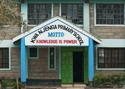 Inadequate Schools in Mukuru Kwa Njenga