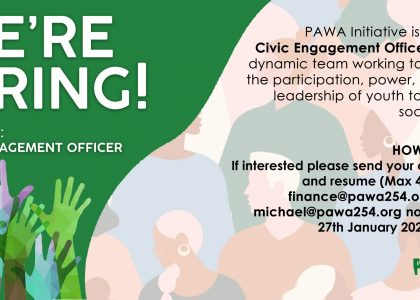 Job Advert – Civic Engagement Officer