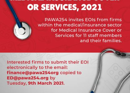 Request For Expression of Interest (EOI) For Medical Insurance Cover / Services 2021